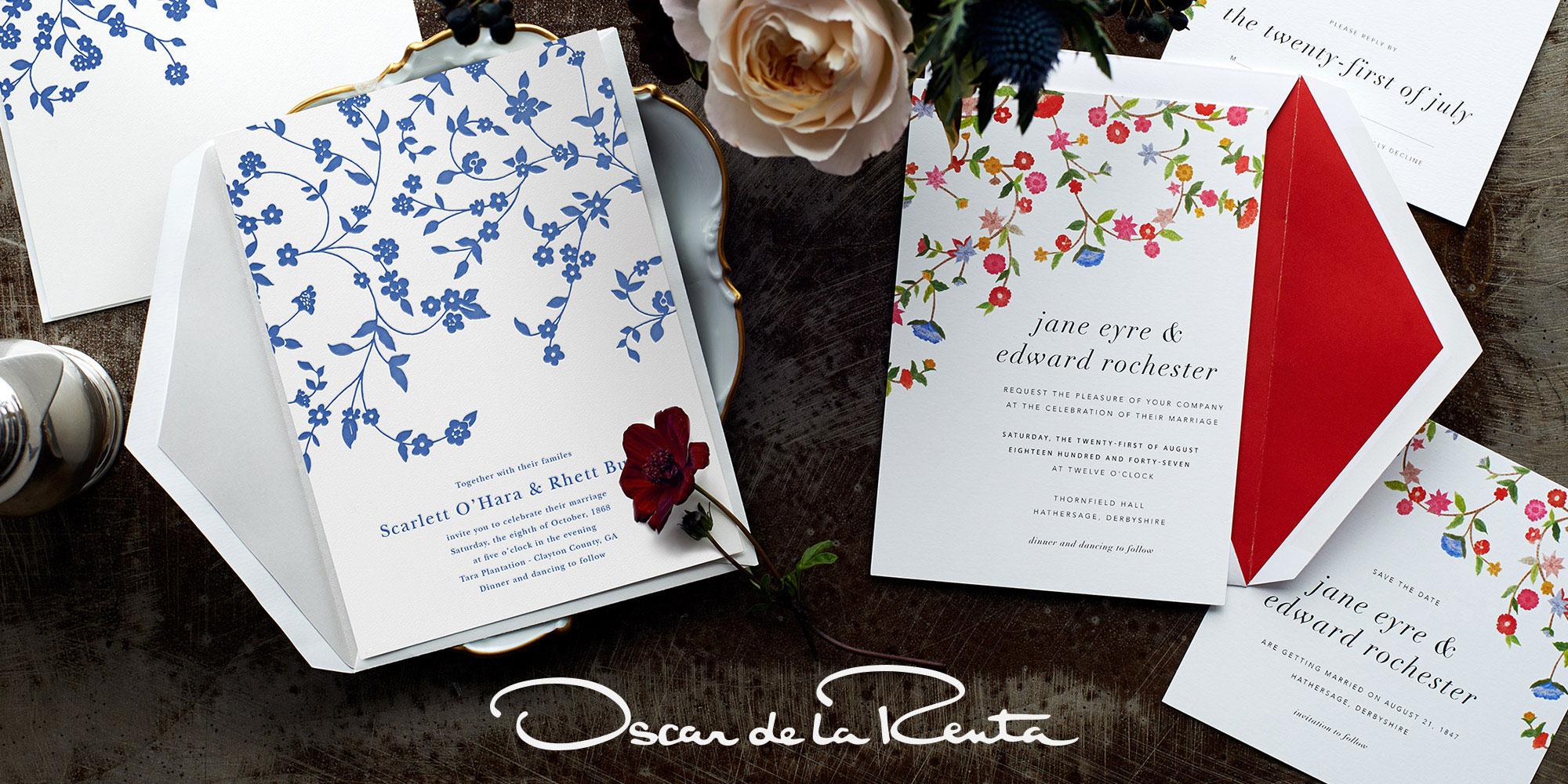 Oscar de la Renta Wedding Collection
